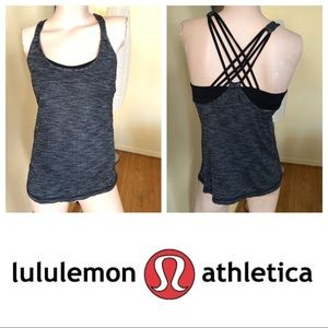LULULEMON Free To Be Wild Tank Top (2 in 1) Sz M